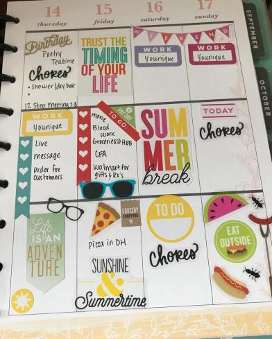 Stickers 4, Happy Planner