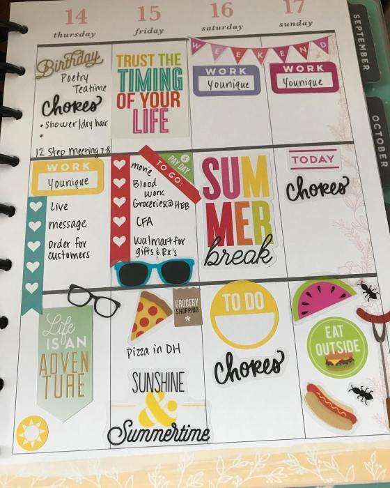 Stickers 4, Happy Planner