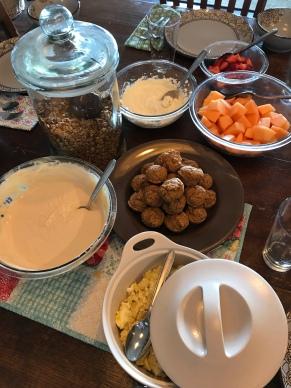 CG breakfast