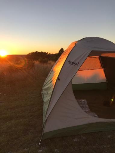 camping at windmill 2