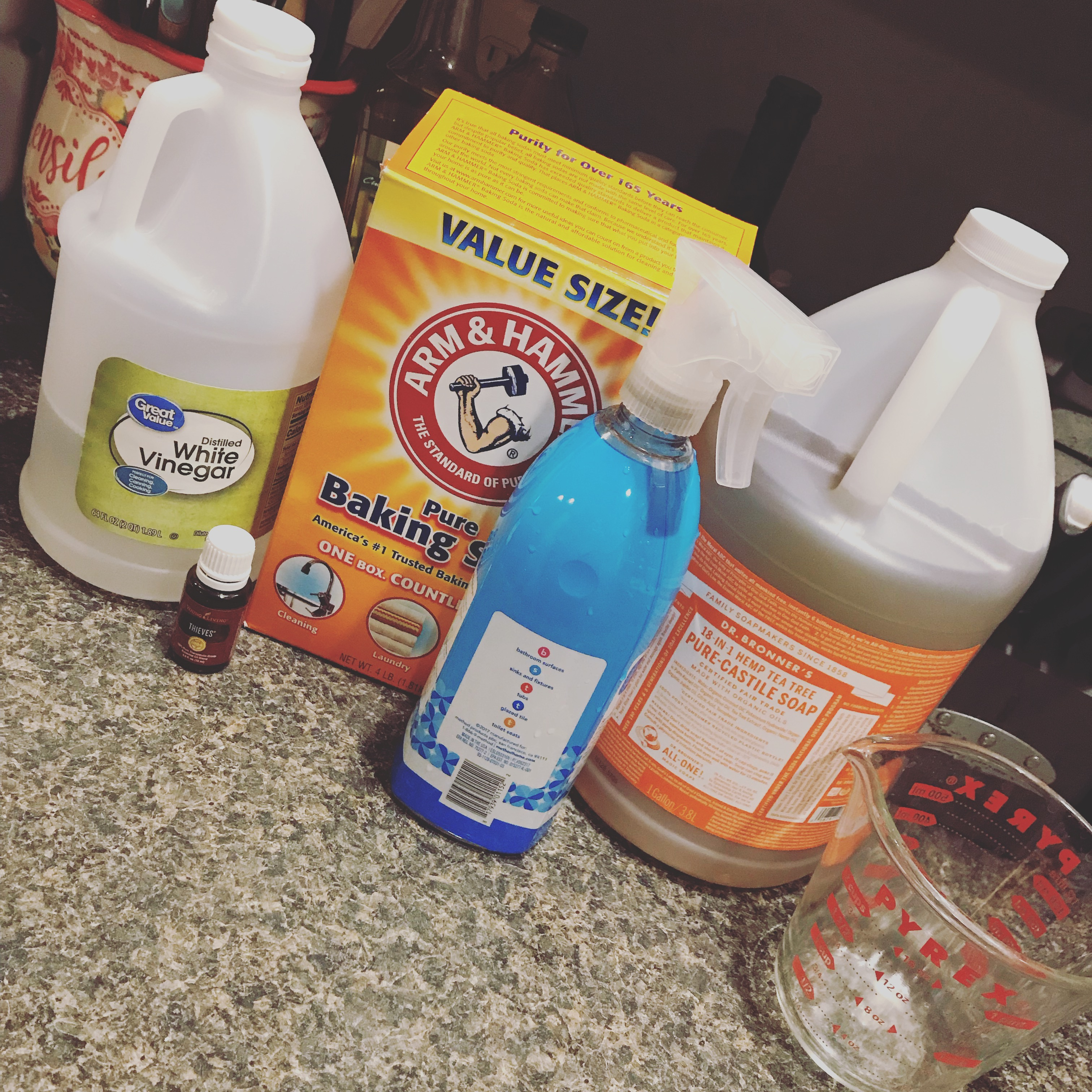 Homemade Bathroom Cleaner | Home of the Croslands