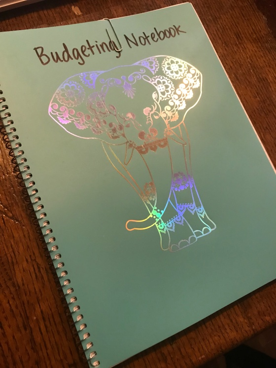 Budgeting notebook