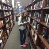K in book store