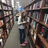 K in book store