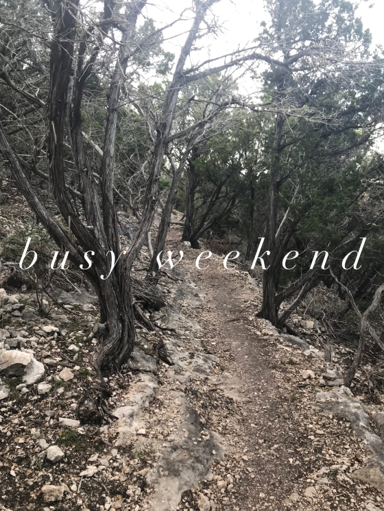 Busy Weekend