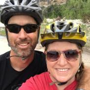 Bike ride with Robert