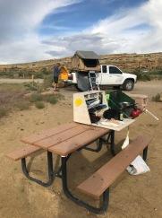 Chaco camping