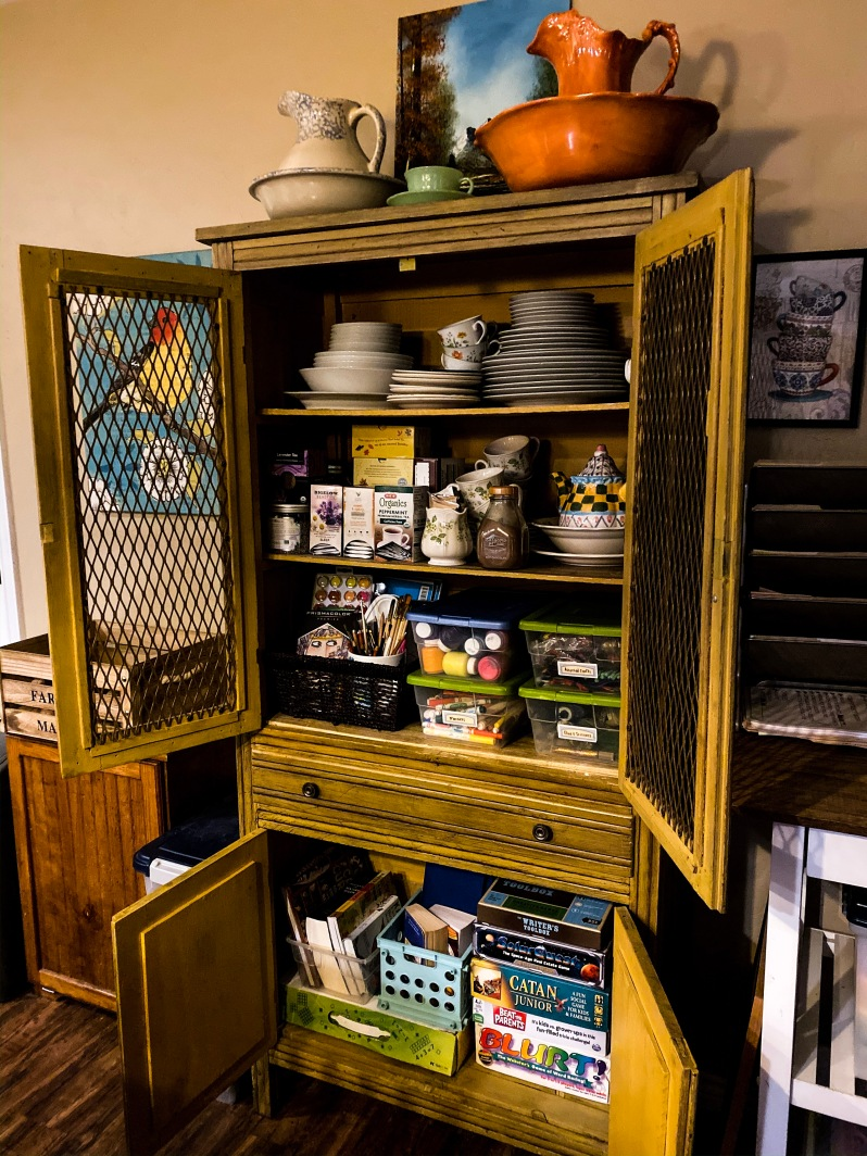 Brave Writer Lifestyle Cabinet