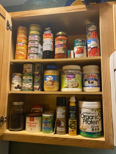 Canned stuff cabinet