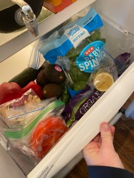 Veggie drawer