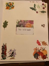 Fall Garden Bullet Journal